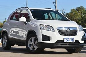 2015 Holden Trax TJ MY16 LS White 6 Speed Automatic Wagon Victoria Park Victoria Park Area Preview