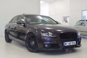 2010 Audi A4 B8 8K MY10 Multitronic Grey 8 Speed Constant Variable Sedan Myaree Melville Area Preview