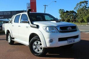 2010 Toyota Hilux KUN26R MY10 SR5 White 4 Speed Automatic Utility Westminster Stirling Area Preview