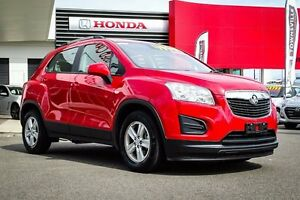2015 Holden Trax TJ MY15 LS Red 6 Speed Automatic Wagon Garbutt Townsville City Preview