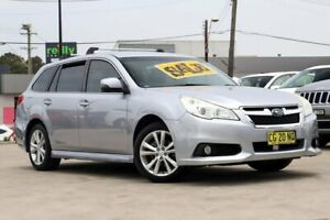 2013 Subaru Liberty B5 MY13 2.5i Lineartronic AWD Silver, Chrome 6 Speed Constant Variable Wagon