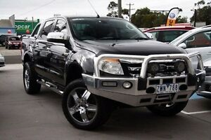 2013 Ford Ranger PX XLT Double Cab Black 6 Speed Sports Automatic Utility Seaford Frankston Area Preview