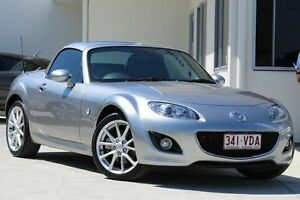 2012 Mazda MX-5 NC30F2 MY09 Roadster Coupe Silver 6 Speed Manual Hardtop Moorooka Brisbane South West Preview