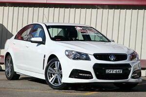 2014 Holden Commodore VF MY15 SV6 White 6 Speed Manual Sedan Homebush Strathfield Area Preview