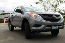 2013 Mazda BT-50 UP0YF1 XT 4x2 Hi-Rider Grey 6 Speed Sports Automatic Utility Derwent Park Glenorchy Area Preview