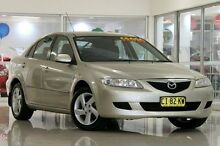 2003 Mazda 6 GG1031 Classic Silver 4 Speed Sports Automatic Hatchback Waitara Hornsby Area Preview