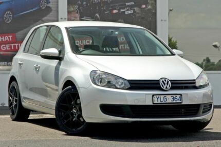 2011 Volkswagen Golf VI MY11 77TSI DSG Silver 7 Speed Sports Automatic Dual Clutch Hatchback Ferntree Gully Knox Area Preview