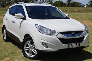 2013 Hyundai ix35 LM2 Elite Vanilla White 6 Speed Sports Automatic Wagon Bundaberg West Bundaberg City Preview