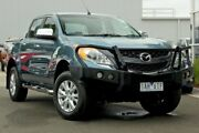 2013 Mazda BT-50 UP0YF1 XTR Green 6 Speed Sports Automatic Utility Ringwood East Maroondah Area Preview