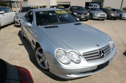 2004 Mercedes-Benz SL350 R230 MY05 Silver 5 Speed Sports Automatic Roadster