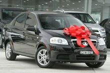 2012 Holden Barina TK MY11 Black 4 Speed Automatic Sedan Pennant Hills Hornsby Area Preview