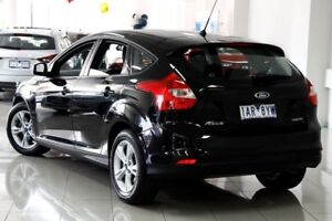 2013 Ford Focus LW MKII Trend PwrShift Black 6 Speed Sports Automatic Dual Clutch Hatchback