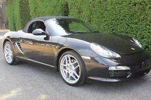 2011 Porsche Boxster  Black Sports Automatic Dual Clutch Convertible Moonah Glenorchy Area Preview
