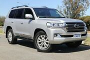 2015 Toyota Landcruiser VDJ200R Sahara Silver Pearl 6 Speed Sports Automatic Wagon Clarkson Wanneroo Area Preview