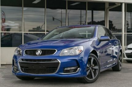 2017 Holden Commodore VF II MY17 SV6 Blue 6 Speed Sports Automatic Sedan Dandenong Greater Dandenong Preview