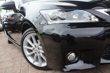 2013 Lexus CT200H ZWA10R MY13 Sports Luxury Black 1 Speed Constant Variable Hatchback Osborne Park Stirling Area Preview