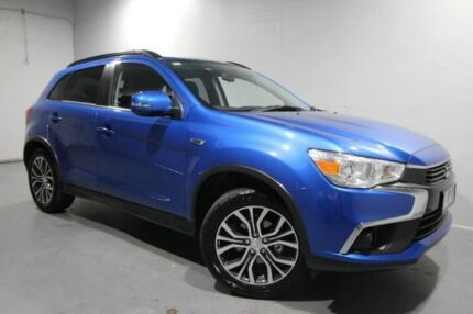 2017 Mitsubishi ASX XC MY17 LS 2WD Blue 6 Speed Constant Variable Wagon Invermay Launceston Area Preview