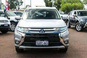 2015 Mitsubishi Outlander ZK MY16 XLS 2WD Silver 6 Speed Constant Variable Wagon Wilson Canning Area Preview