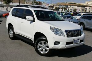 2009 Toyota Landcruiser Prado KDJ150R GXL Glacier White 5 Speed Sports Automatic Wagon Northbridge Perth City Area Preview