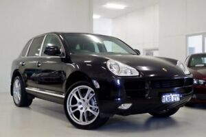 2005 Porsche Cayenne 9PA S Black 6 Speed Sports Automatic Wagon Myaree Melville Area Preview