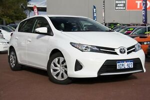 2014 Toyota Corolla ZRE182R Ascent S-CVT White 7 Speed Constant Variable Hatchback Cannington Canning Area Preview
