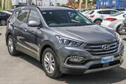 2017 Hyundai Santa Fe DM3 MY17 Elite Grey 6 Speed Sports Automatic Wagon Aspley Brisbane North East Preview