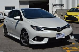 2016 Toyota Corolla ZRE182R ZR S-CVT Crystal Pearl 7 Speed Constant Variable Hatchback Claremont Nedlands Area Preview