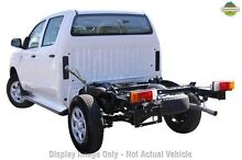2011 Toyota Hilux KUN26R MY10 SR White 5 Speed Manual Cab Chassis Wangara Wanneroo Area Preview
