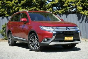 2015 Mitsubishi Outlander ZK MY16 XLS 4WD Red 6 Speed Sports Automatic Wagon Morphett Vale Morphett Vale Area Preview