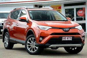 2016 Toyota RAV4 ASA44R Cruiser AWD Inferno Orange 6 Speed Sports Automatic Wagon Woolloongabba Brisbane South West Preview