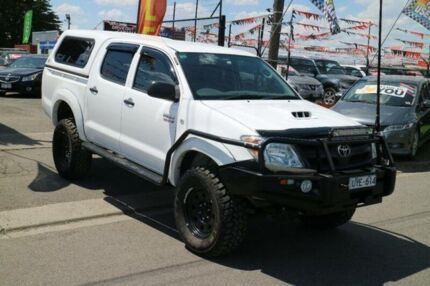 2007 Toyota Hilux KUN16R 07 Upgrade SR White 5 Speed Manual Brooklyn Brimbank Area Preview