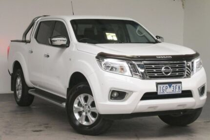 2015 Nissan Navara D23 ST White 7 Speed Sports Automatic Utility Strathmore Heights Moonee Valley Preview