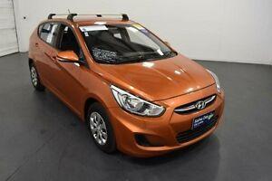 2015 Hyundai Accent RB2 MY15 Active Orange 4 Speed Automatic Sedan Moorabbin Kingston Area Preview