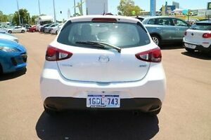 2016 Mazda 2 DJ2HAA Maxx SKYACTIV-Drive White 6 Speed Sports Automatic Hatchback Wilson Canning Area Preview