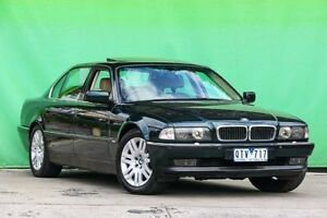 1997 BMW 750il E38 Steptronic Green 5 Speed Sports Automatic Sedan Ringwood East Maroondah Area Preview