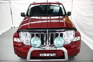 2011 Jeep Cherokee KK MY11 Sport Burgundy 4 Speed Automatic Wagon Maryville Newcastle Area Preview