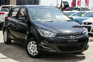2014 Hyundai i20 PB MY14 Active Black 4 Speed Automatic Hatchback Blacktown Blacktown Area Preview