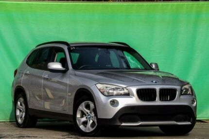 2011 BMW X1 E84 MY11 sDrive18i Steptronic Silver 6 Speed Sports Automatic Wagon Ringwood East Maroondah Area Preview