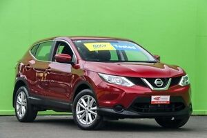 2015 Nissan Qashqai J11 ST Magnetic Red 1 Speed Constant Variable Wagon Ringwood East Maroondah Area Preview