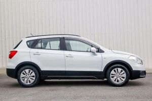 2014 Suzuki S-Cross JY GL (4x2) White Continuous Variable Wagon