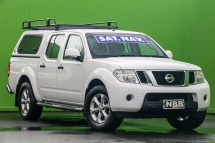 2014 Nissan Navara D40 S7 ST 4x2 Polar White 5 Speed Sports Automatic Utility Ringwood East Maroondah Area Preview