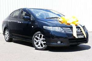 2009 Honda City GM MY09 VTi Black 5 Speed Automatic Sedan Kings Park Blacktown Area Preview