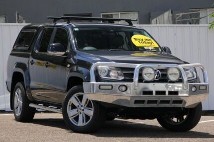 2012 Volkswagen Amarok 2H MY12.5 TDI420 4Motion Perm Ultimate Black 8 Speed Automatic Utility