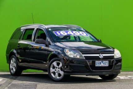 2006 Holden Astra AH MY06 CDX Black 4 Speed Automatic Wagon Ringwood East Maroondah Area Preview