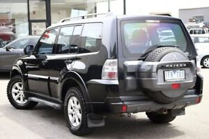 2011 Mitsubishi Pajero NT MY11 GLX Black 5 Speed Sports Automatic Wagon