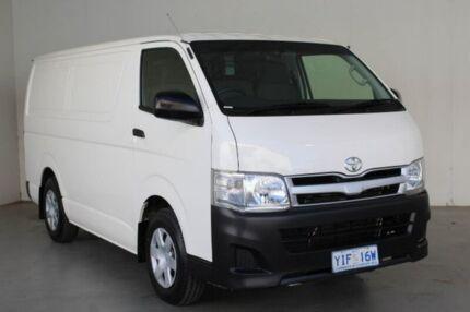 2012 Toyota Hiace French Vanilla