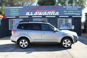 2008 Subaru Forester S3 MY09 XT Premium Steel Silver 4 Speed Automatic Wagon Barrack Heights Shellharbour Area Preview