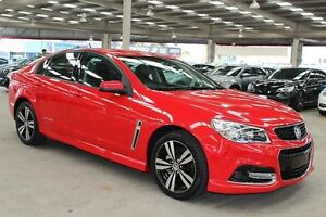 2015 Holden Commodore VF MY15 SV6 Storm Red 6 Speed Automatic Sedan Cannington Canning Area Preview