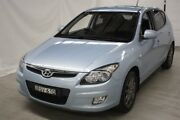 2010 Hyundai i30 FD MY10 SLX Blue 4 Speed Automatic Hatchback Maryville Newcastle Area Preview