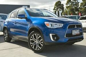 2015 Mitsubishi ASX XB MY15.5 LS 2WD Blue 6 Speed Constant Variable Wagon Nunawading Whitehorse Area Preview